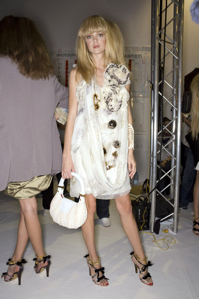 Christian Lacroix at Paris Spring 2009 (Backstage)