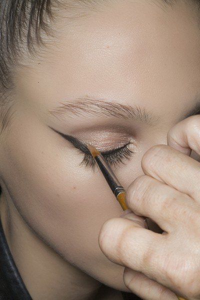 Christian Lacroix at Couture Spring 2009 (Backstage) [couture spring 2009,eyebrow,face,eyelash,eye,eye shadow,nose,skin,beauty,lip,eye liner,christian lacroix,eye liner,eye shadow,beauty,hair,nail,lips,hair integrations,femininity,eye liner,eyeliner-brown,eye shadow,beauty,hair,nail,lips,artificial hair integrations,femininity]