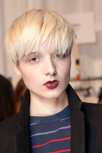 Christian Siriano at New York Fall 2012 (Backstage)
