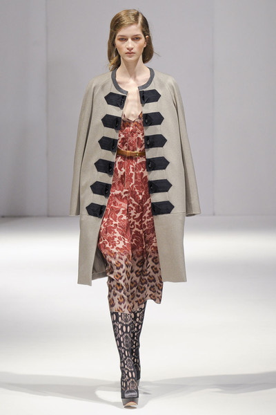 Clements Ribeiro at London Fall 2011