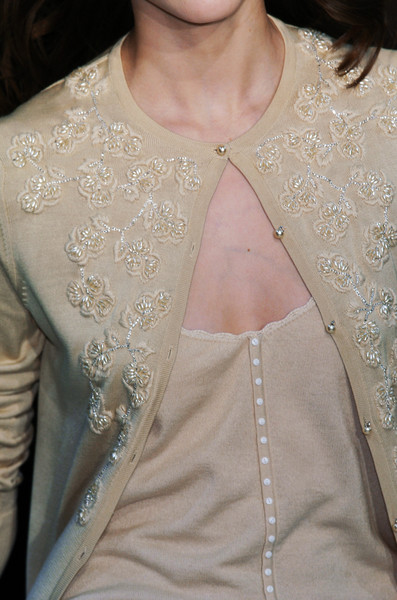 Collette Dinnigan at Paris Fall 2005 (Details)