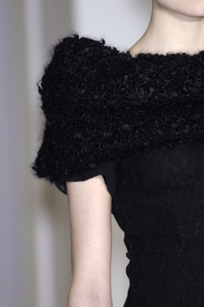 Collette Dinnigan at Paris Fall 2009 (Details)