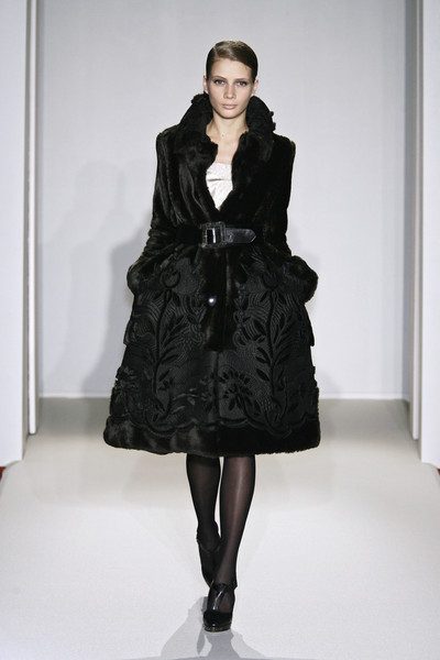 Collette Dinnigan at Paris Fall 2009