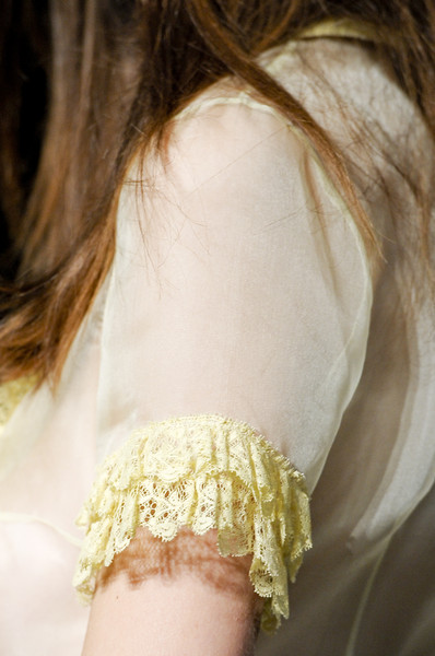 Collette Dinnigan at Paris Spring 2011 (Details)