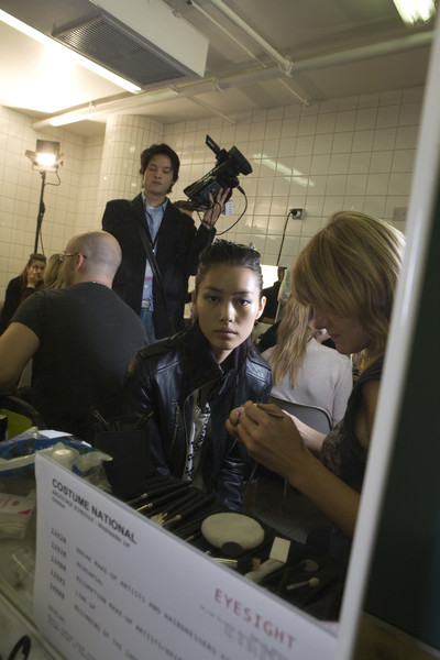 Costume National at Paris Spring 2009 (Backstage)