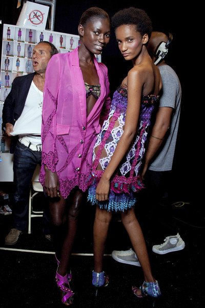 Custo Barcelona at New York Spring 2010 (Backstage)