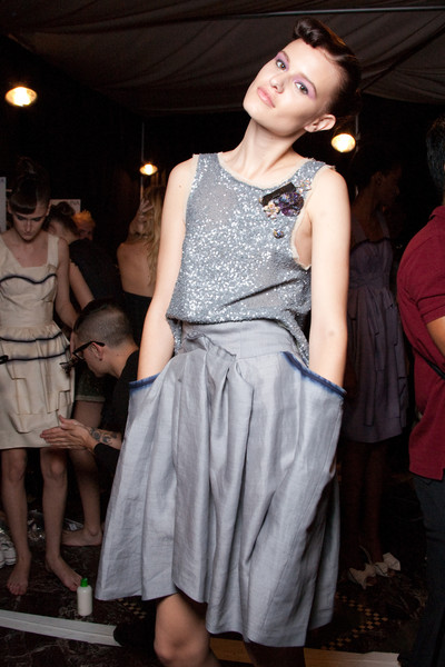 Cynthia Rowley at New York Spring 2010 (Backstage)