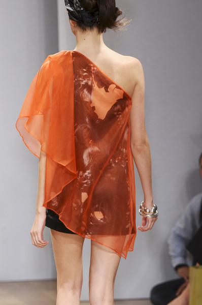 Danielle Scutt at London Spring 2009 (Details)