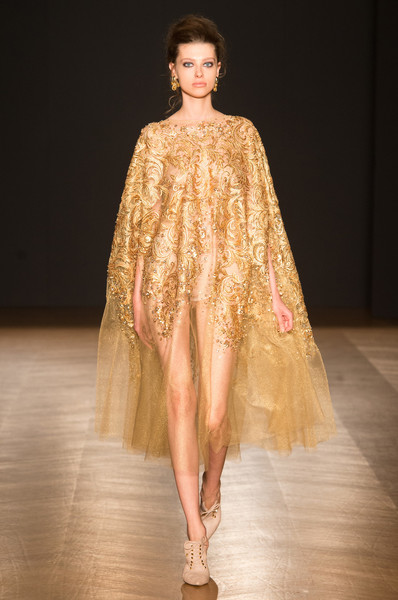 Dany Atrache at Couture Fall 2017