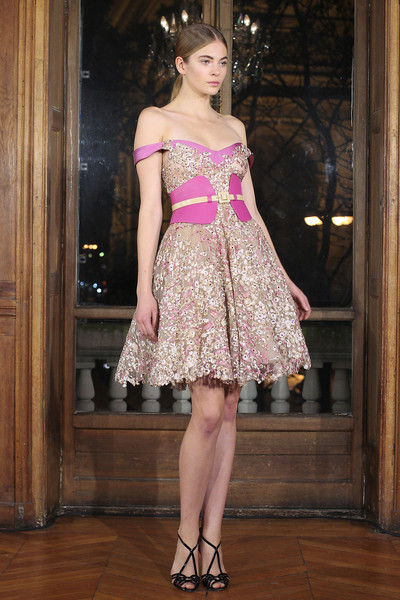 Dany Atrache at Couture Spring 2013