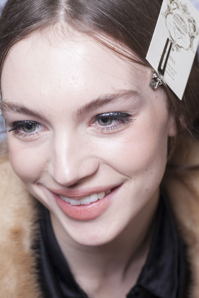 David Koma at London Fall 2013 (Backstage)