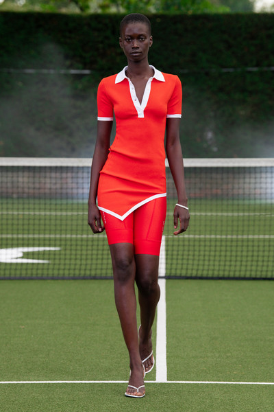 David Koma Press  Office at London Spring 2021 [tennis,tennis court,sport venue,sports,racket,tennis player,tennis racket,human leg,soft tennis,leg,david koma,fashion,tennis,vogue,model,runway,tennis racket,press office,london fashion week,fashion show,david koma,ready-to-wear,fashion,fashion show,vogue,london fashion week,model,runway,burberry]
