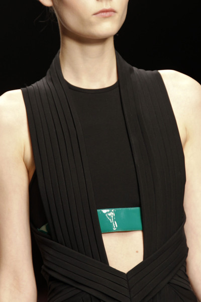 David Koma at London Spring 2013 (Details)