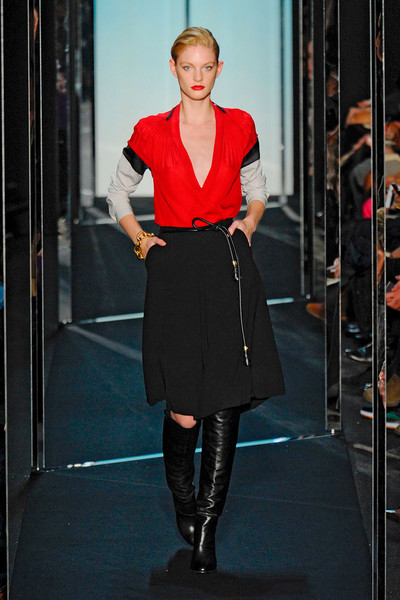 Diane von Furstenberg at New York Fall 2011