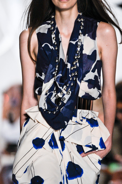 Diane von Furstenberg at New York Spring 2013 (Details)