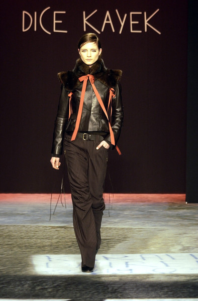 Dice Kayek at Paris Fall 2002