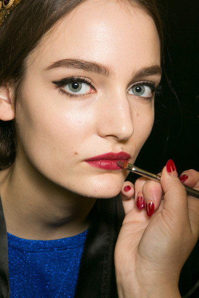 Dolce & Gabbana at Milan Fall 2013 (Backstage)