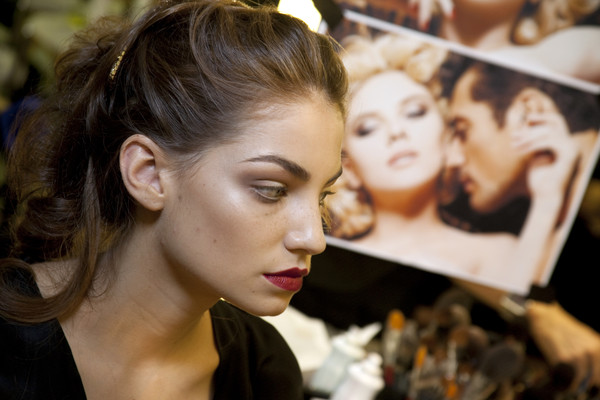 Dolce & Gabbana at Milan Spring 2010 (Backstage)