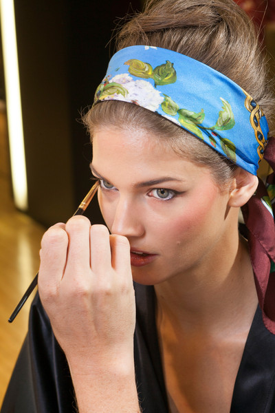 Dolce & Gabbana at Milan Spring 2013 (Backstage)