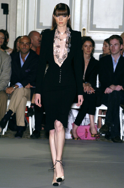 Dominique Sirop at Couture Fall 2004