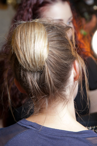 Donna Karan at New York Spring 2013 (Backstage)