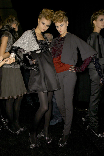 Doo.Ri at New York Fall 2007 (Backstage)