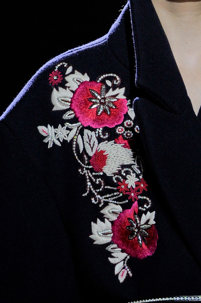 Dries Van Noten at Paris Fall 2013 (Details)