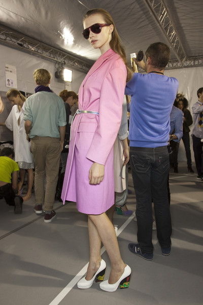 Dries Van Noten at Paris Spring 2011 (Backstage)