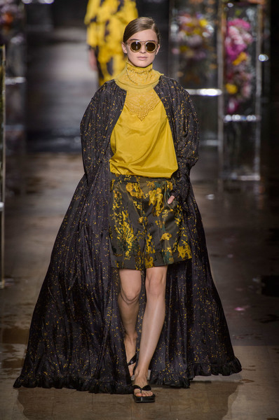 Dries Van Noten at Paris Spring 2017 [fashion model,fashion,clothing,yellow,fashion show,haute couture,runway,fashion design,dress,event,runway,fashion,haute couture,clothing,fashion week,model,dries van noten,dries,paris fashion week,fashion show,runway,dries van noten,paris fashion week,fashion show,dries,fashion,fashion week,haute couture,model,clothing]