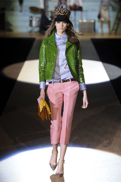 Dsquared² at Milan Fall 2012