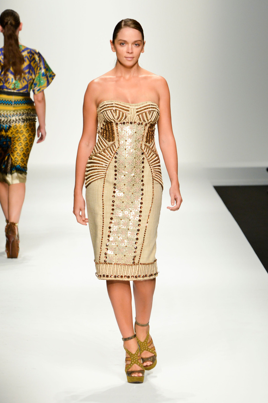 Elena Miro at Milan Fashion Week Spring 2013