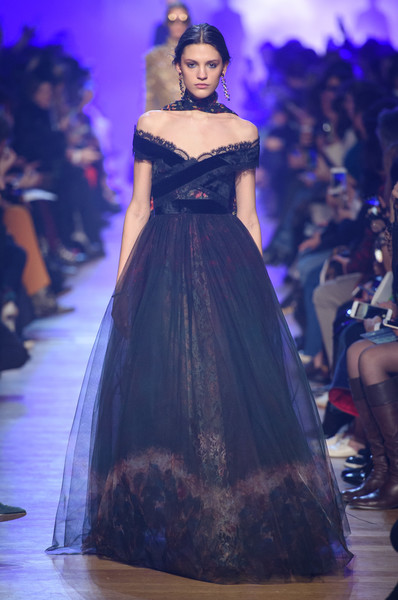 Elie Saab at Paris Fashion Week Fall 2018