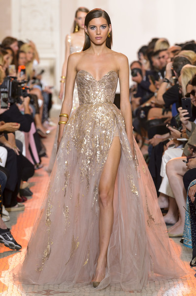Elie Saab at Couture Fall 2018
