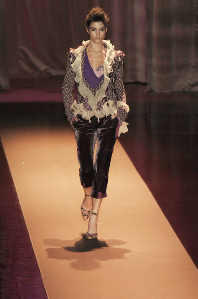 Emanuel Ungaro at Paris Fall 2004