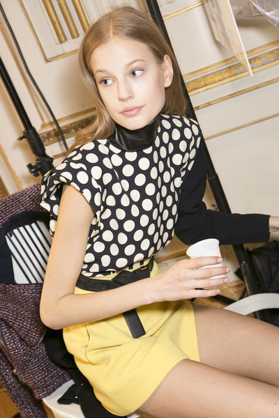 Emanuel Ungaro at Paris Fall 2013 (Backstage)