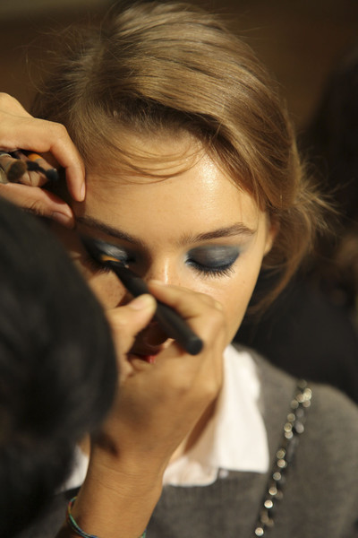 Emanuel Ungaro at Paris Spring 2012 (Backstage)