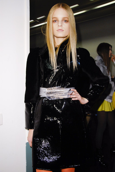 Emilio Pucci at Milan Fall 2008 (Backstage)