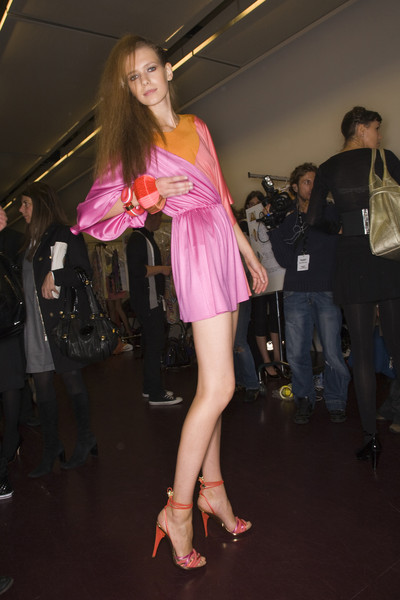Emilio Pucci at Milan Spring 2008 (Backstage)