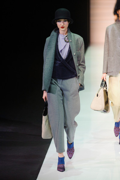 Emporio Armani at Milan Fall 2013
