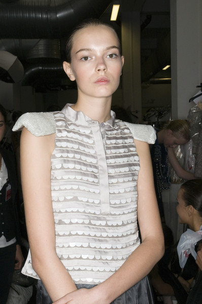 Emporio Armani at Milan Spring 2009 (Backstage)