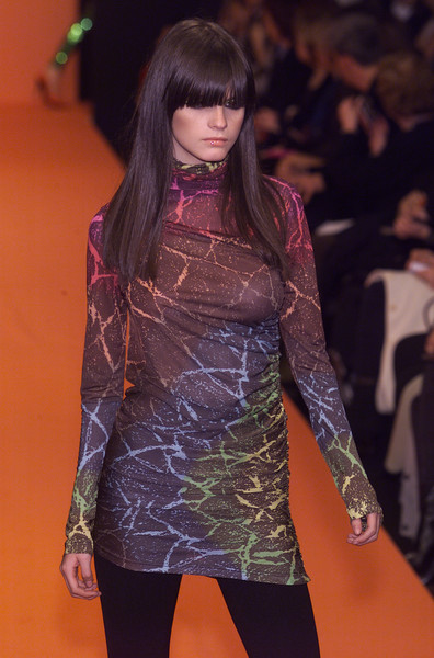 Enrico Coveri at Milan Fall 2001