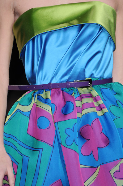 Enrico Coveri at Milan Fall 2009 (Details)