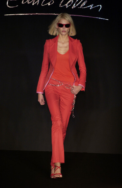 Enrico Coveri at Milan Spring 2004