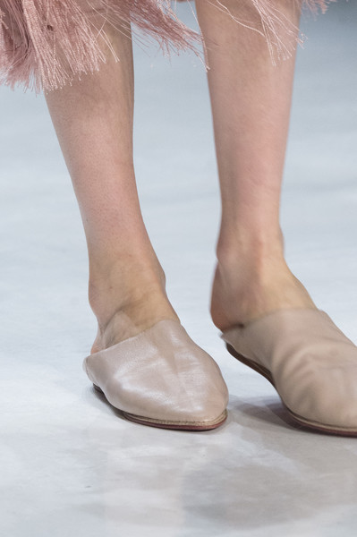 Erin Fetherston at New York Fall 2017 (Details) [footwear,leg,shoe,human leg,foot,ankle,fashion,sole,joint,close-up,shoe,ballet flat,shoe,supermodel,erin fetherston,haute couture,toe,runway,calf,new york fashion week,ballet flat,shoe,toe,high-heeled shoe,sandal,haute couture,barefoot,supermodel,runway,calf]