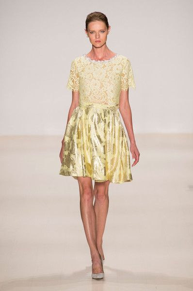 Erin Fetherston at New York Spring 2015 [fashion show,fashion model,clothing,fashion,runway,dress,cocktail dress,day dress,yellow,shoulder,dress,cocktail dress,gown,supermodel,runway,fashion,model,haute couture,new york fashion week,fashion show,runway,fashion show,dress,cocktail dress,fashion,model,haute couture,supermodel,gown,socialite]