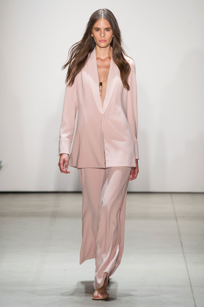 Erin Fetherston at New York Spring 2017 [fashion model,fashion show,fashion,runway,clothing,pink,suit,pantsuit,public event,blazer,erin fetherston,runway,fashion,model,spring,color,haute couture,world,new york fashion week,fashion show,runway,fashion,spring,summer,color,model,fashion show,world,2020,haute couture]