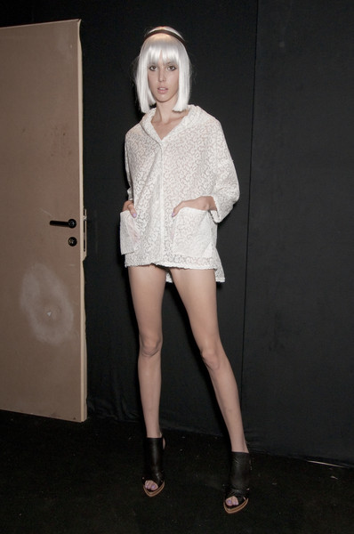 Ermanno Scervino at Milan Spring 2011 (Backstage)