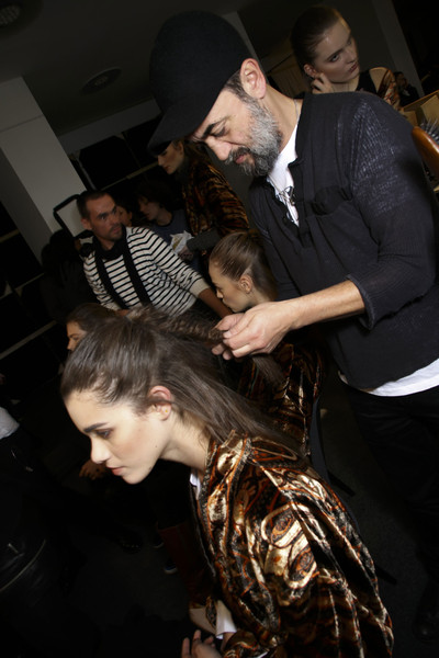 Etro at Milan Fall 2014 (Backstage)