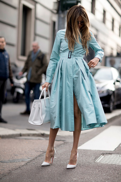 Belted Trench Dress