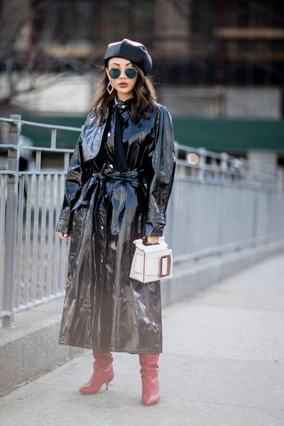 Patent Leather Trench